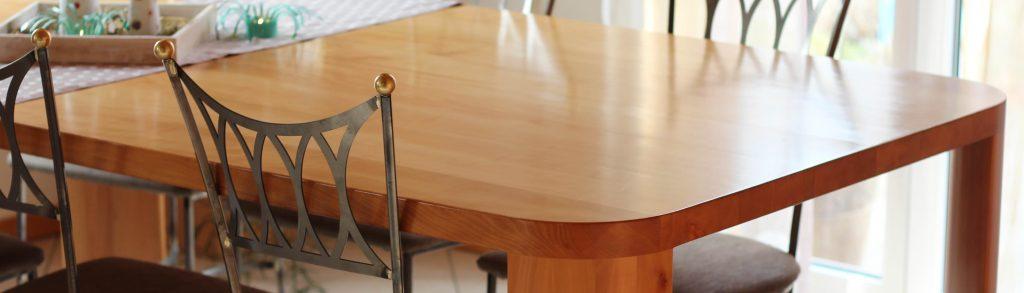 einzigartige feng shui massivholztische drechslerei stich. Black Bedroom Furniture Sets. Home Design Ideas